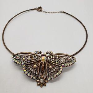 ALI KHAN New York  Butterfly Necklace